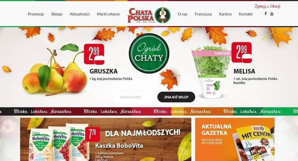 Strona www Chata Polska